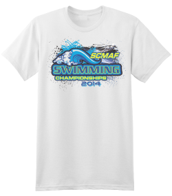 SCMAF Swimming Tee